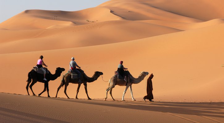 Visitar desierto en Marruecos