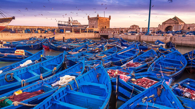 puerto en Marruecos