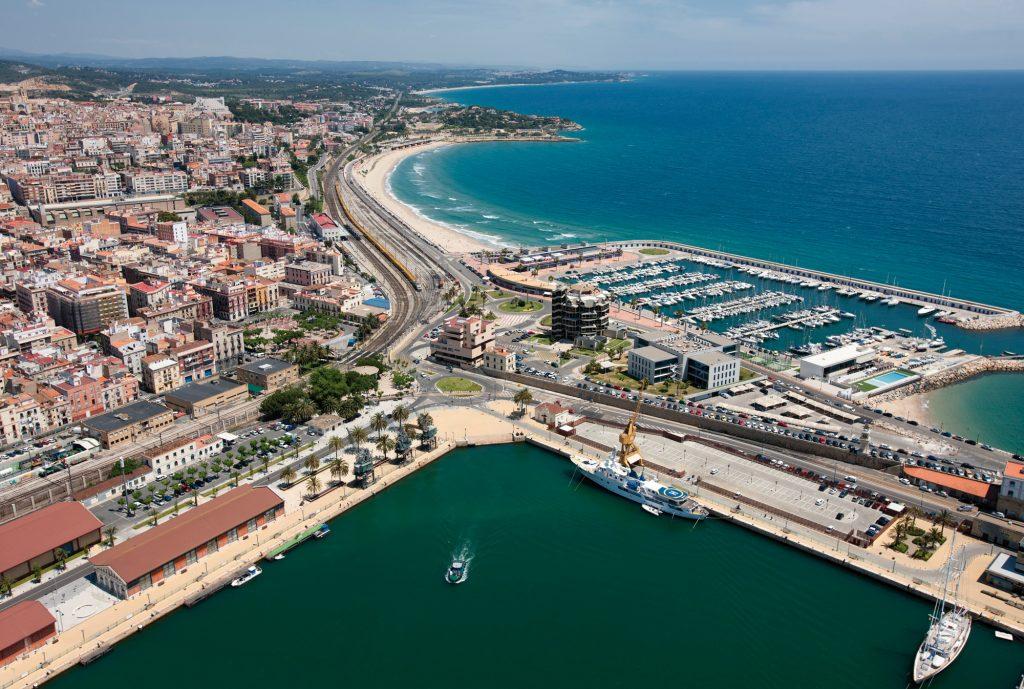 Vista aérea de Tarragona